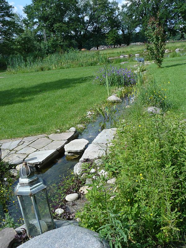 Praxisbeispiel Einer Feng Shui Gartengestaltung Mit